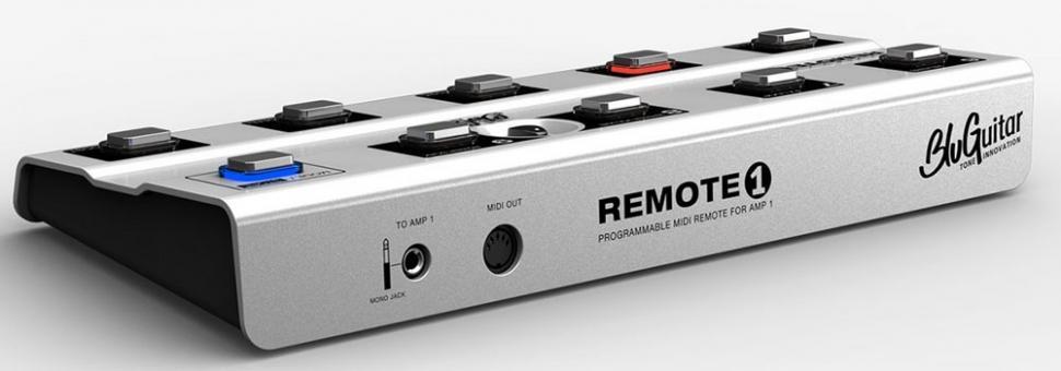 Remote1, das Fußpedal für BluGuitar AMP1 jetzt erhältlich