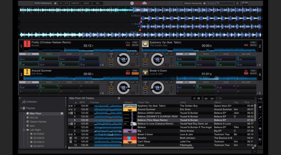 Pioneer DJ präsentiert Rekordbox DJ 4.0 und neue Controller DDJ-RX und DDJ-RZ