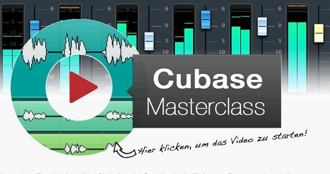 audio-workshop Cubase Masterclass Tutorial-Video