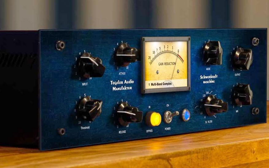 Tegeler Audio Manufaktur: Schwerkraftmaschine