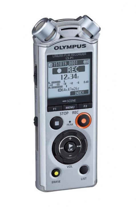 Olympus: neue PCM-Recorder LS-P1 & LS-P2 im Taschenformat