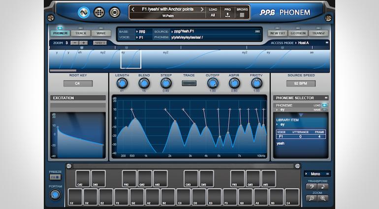 Phonem: Wolfgang Palm stellt Vocal-Synthesizer vor