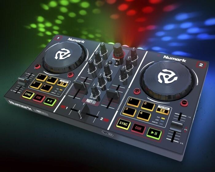 Numark Party Mix: DJ-Controller inklusive Light Show
