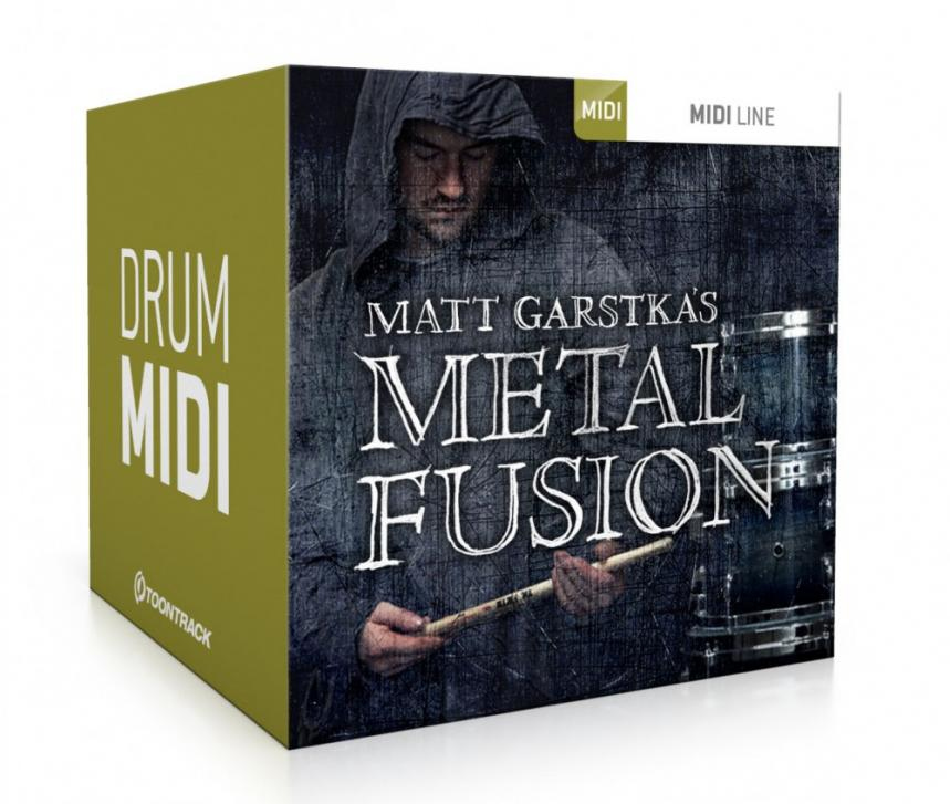 Toontrack Metal Fusion MIDI - sechste Veröffentlichung im Metalmonth