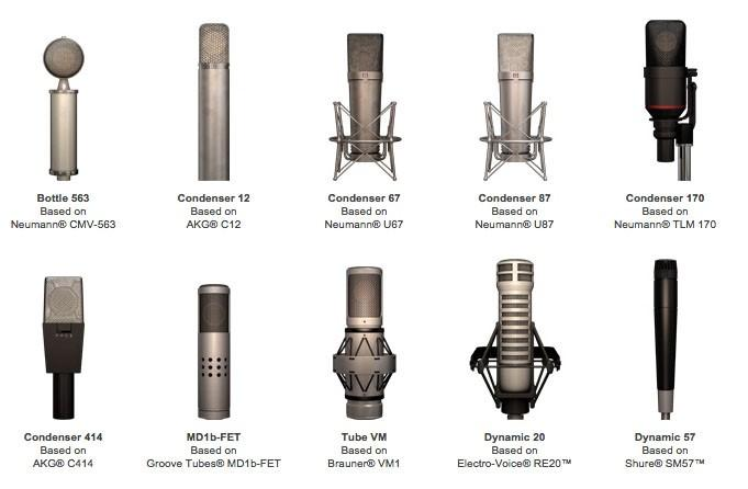 Mic Room modelliert begehrte Mikrofone der Welt