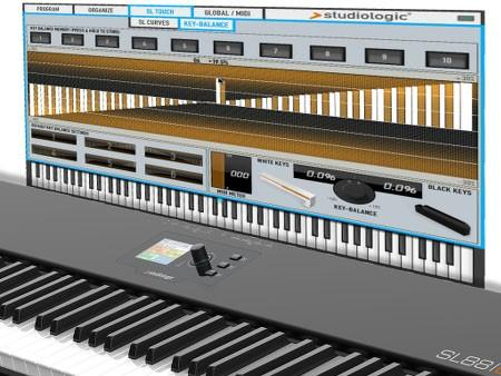 Software-Editor für Masterkeyboard SL88 Grand