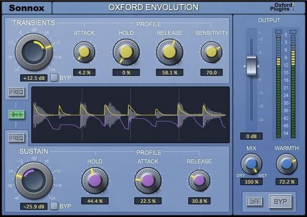 Sonnox Oxford Envolution  - neuer Envelope Shaper vorgestellt