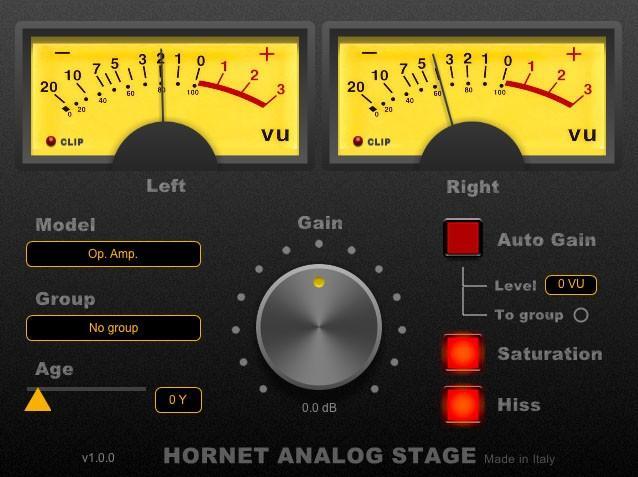 HoRNet Plugins stellt AnalogStage vor