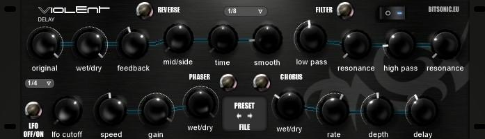 Bitsonic Violent Delay