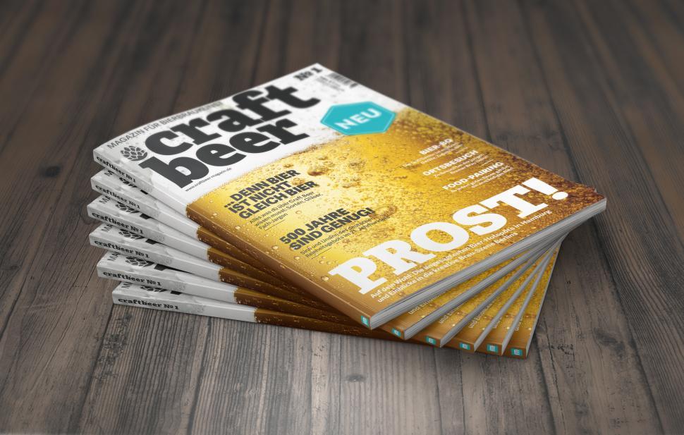 falkemedia, das Medienhaus hinter Mac Life, startet zum April ein eigenes Craft-Bier-Magazin.