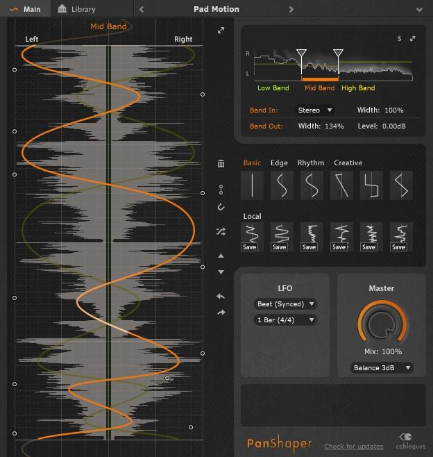 Cableguys neues ''Shaper''-Plug-in