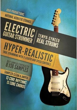 8Dio Electric Guitar Strummer