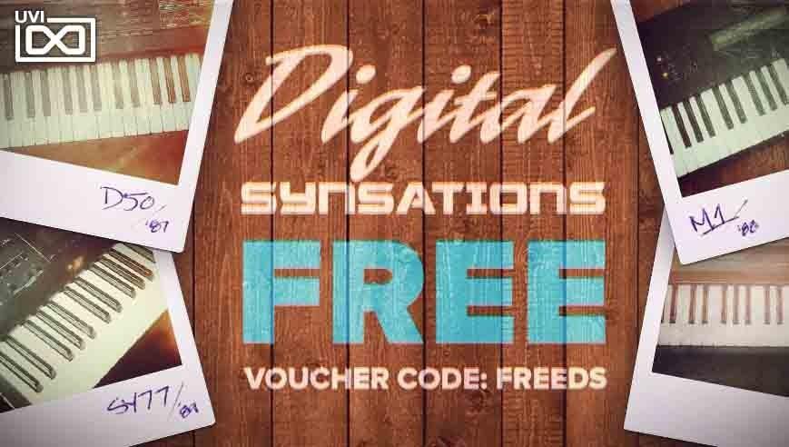 UVI Digital Synsations kostenfrei bis zum 13. März