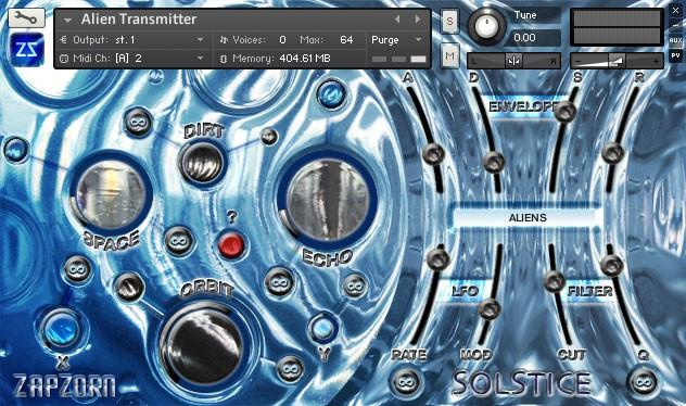 ZapZorn Solstice:Blue