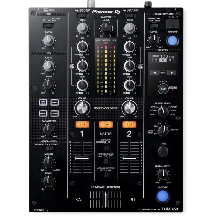 Pioneer DJ kündigt DJM-450 Mixer an