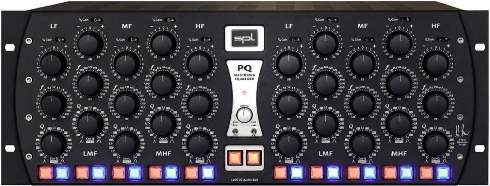 SPL PQ Mastering Equalizer ist jetzt erhältlich