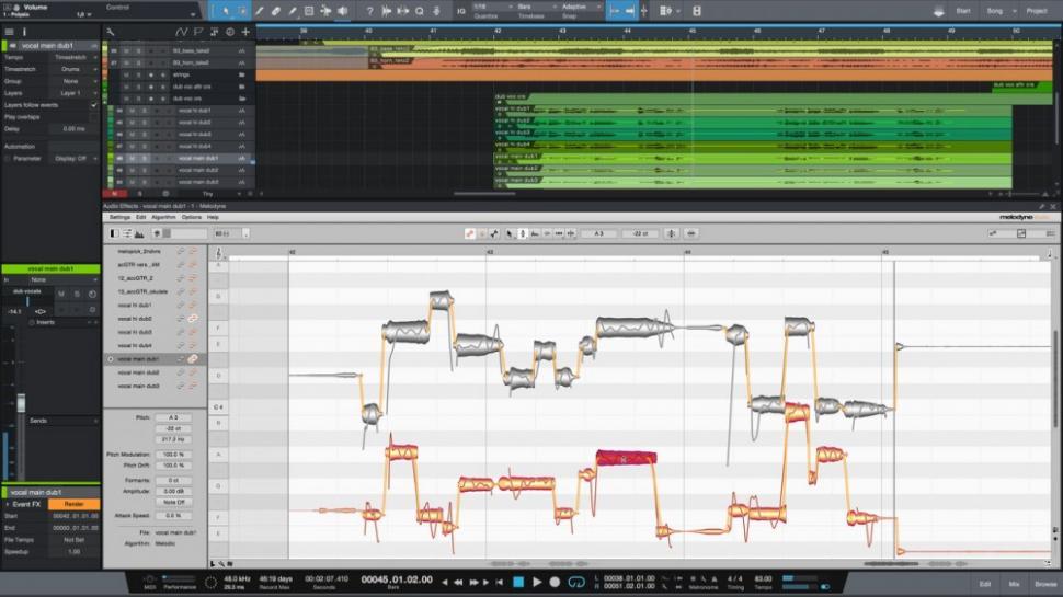 Celemony bringt Melodyne auf Version 4.1