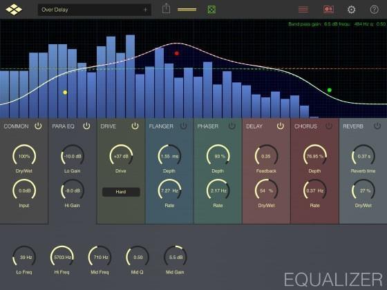 VirSyn AudioEffX - der Multieffekt für iPad und iPhone
