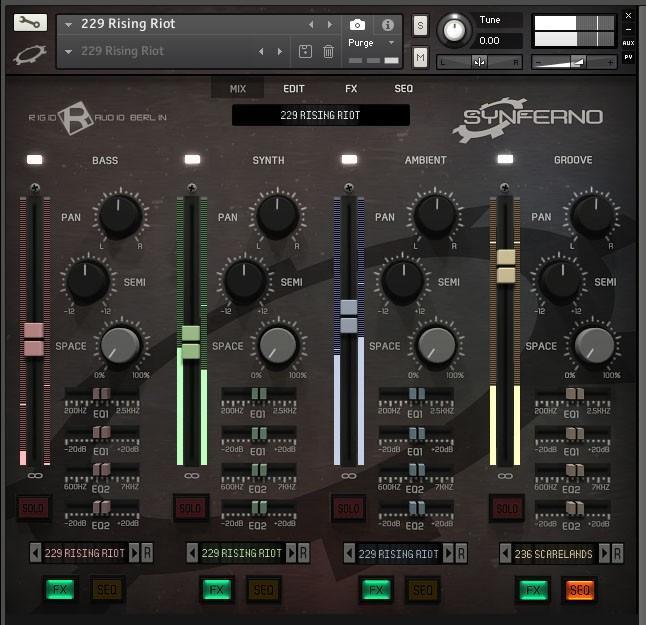 Rigid Audio Synferno