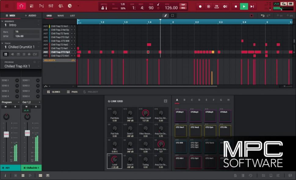 Akai MPC 2.0 Software in den Startlöchern