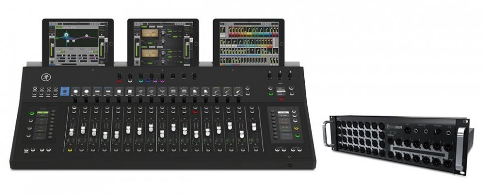 Erhältlich: Mackie AXIS Digital Mixing System