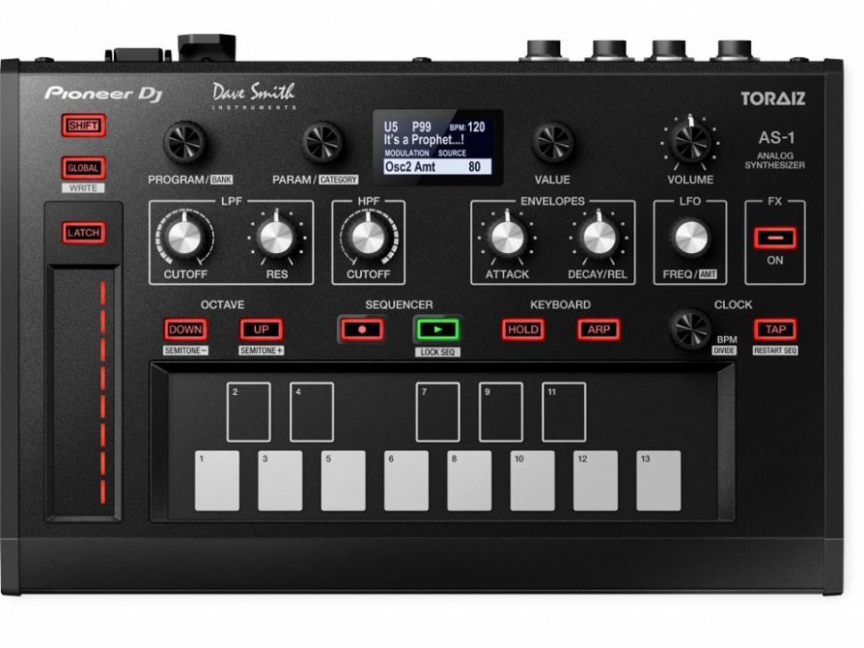 NAMM 2017: Pioneer DJ Toraiz AS-1 Synthesizer