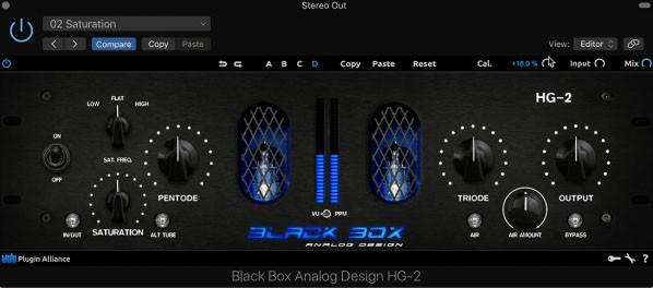 brainworx Black Box Analog Design HG-2