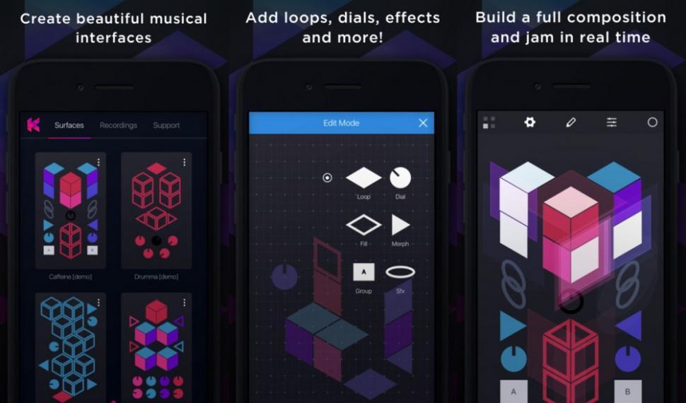 Studio Amplify KRFT für iOS