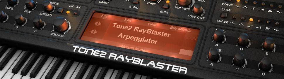 Tone2 Rayblaster2 in der Beta-Phase