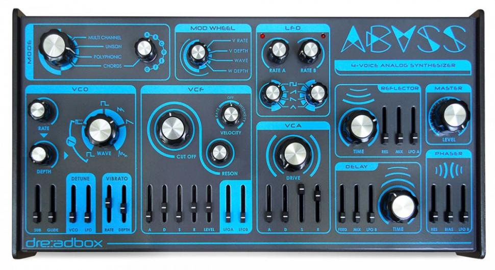 Abyss: erster polyphoner Synthesizer aus dem Hause Dreadbox