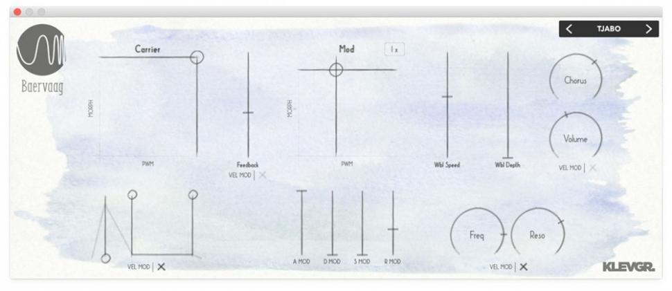 Klevgränd Baervaag FM-Synthesizer für iOS und Desktop