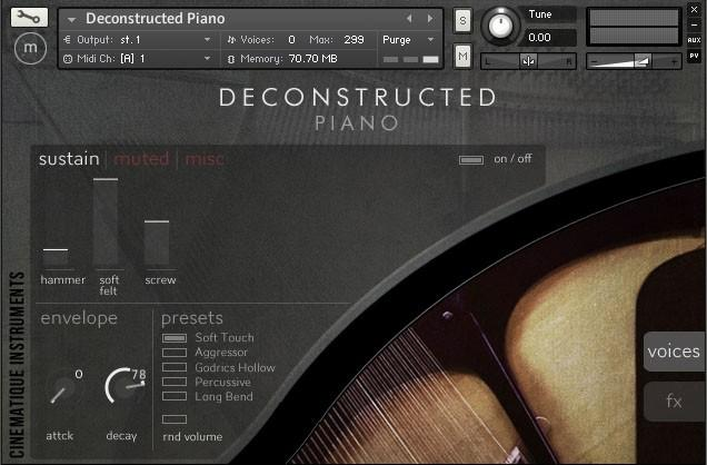 Deconstructed Piano