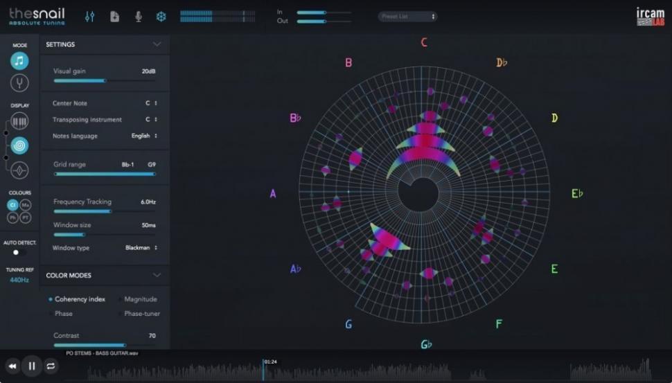 Ircam Lab Snail-Tuner für Windows und iOS