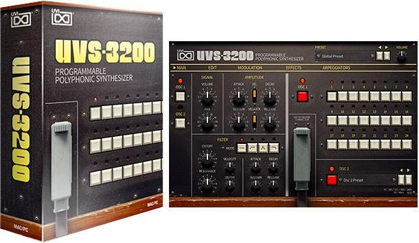 UVI UVS-3200 -  Korg PS-3200 als Software