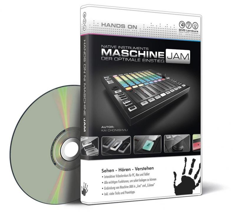 DVD Lernkurs Hands On Maschine Jam