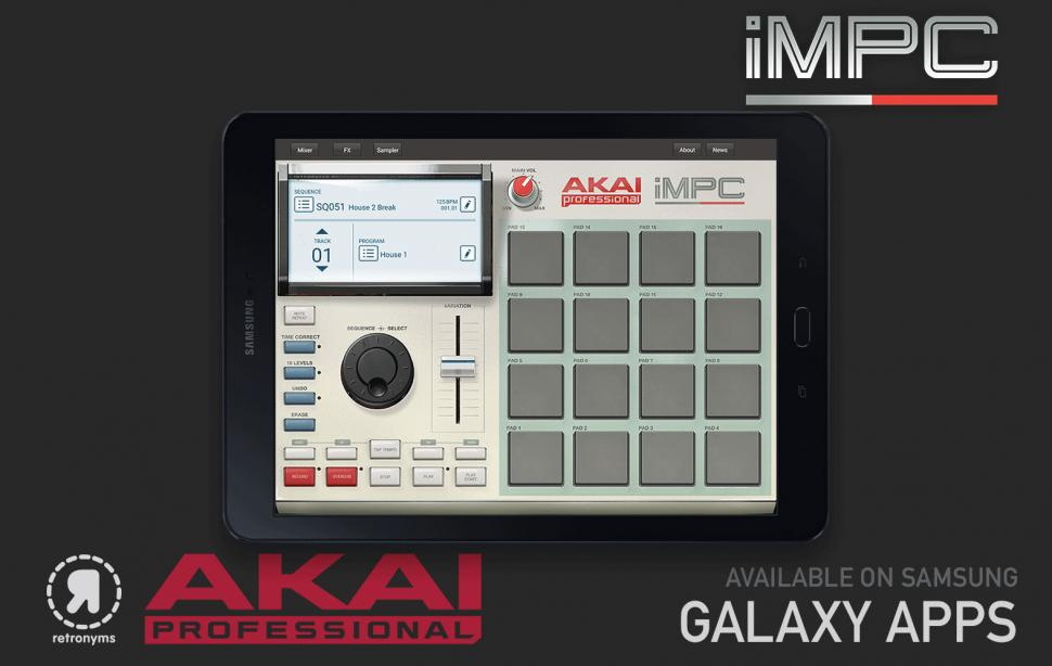 Akai iMPC Android Samsung Tablet