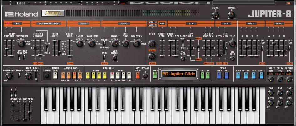 Roland Jupiter-8 Plug-in