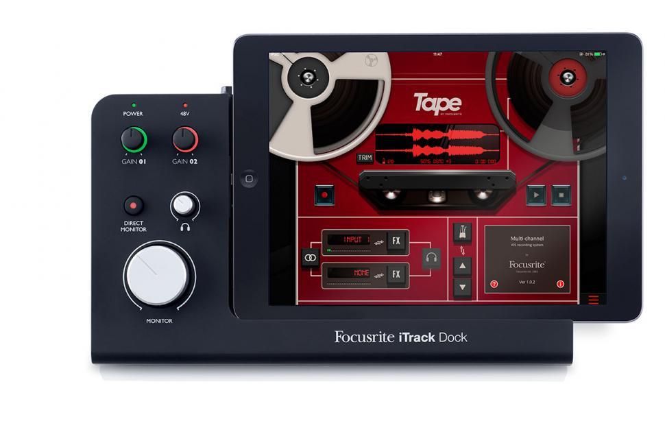 Focusrite iTrack Dock: Mit dem iTrack Dock von Focusrite gelingen unkompliziert professionelle Aufnahmen.