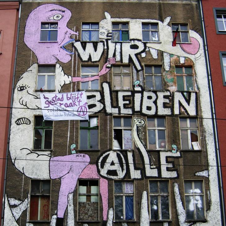 Gentrifizierung, Brunnenstr. 183, Berlin