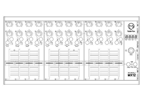Faderfox MX12: Der ideale Controller für den Elektron Analog Rytm?