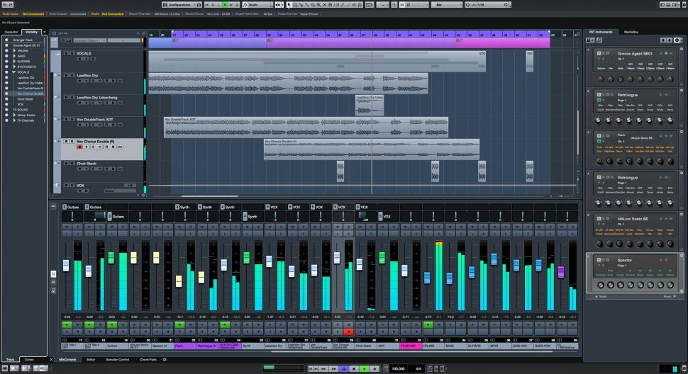 Zone Concept in Steinberg Cubase Pro 9