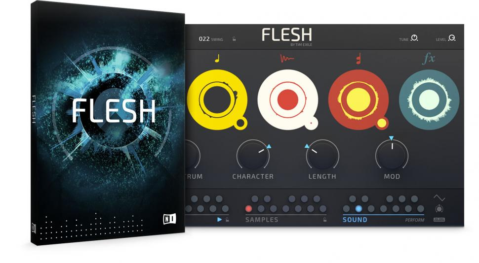 Native Instruments Flesh in Zusammenarbeit mit Tim Exile