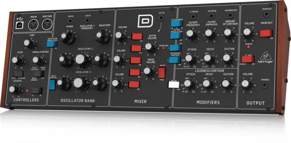 Behringer D Synth: Der Minimoog-Klon