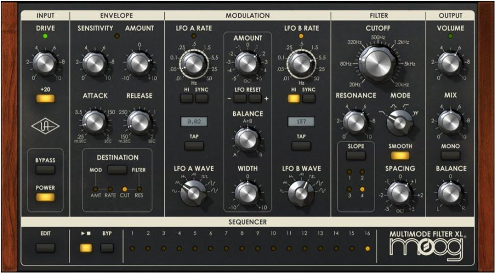 Moog Multimode Filter Collection