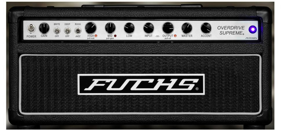 Fuchs Overdrive Supreme 50 Amplifier