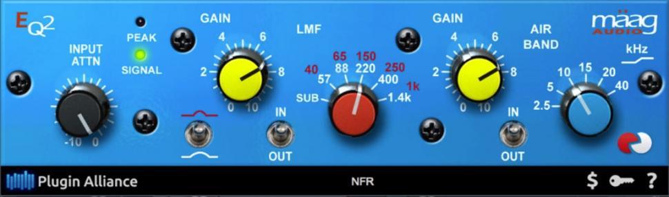 Enthalten in PreSonus Studio Magic: Mäag Audio EQ2