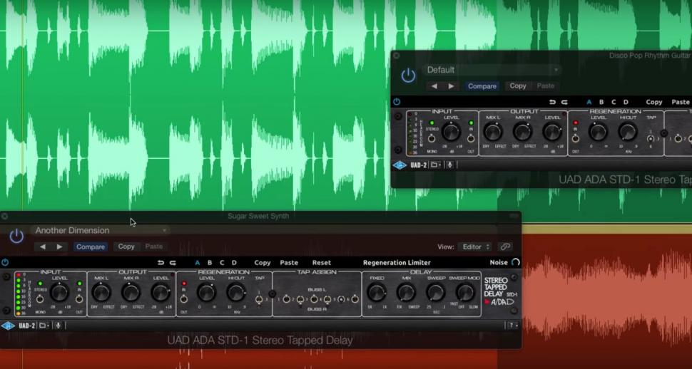 Universal Audio A/DA STD-1 Stereo Tapped Delay