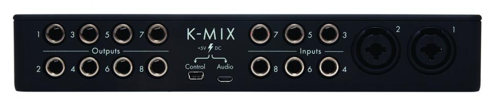 Audio-Interface, Mixer & Controller: Keith McMillen K-Mix im Test