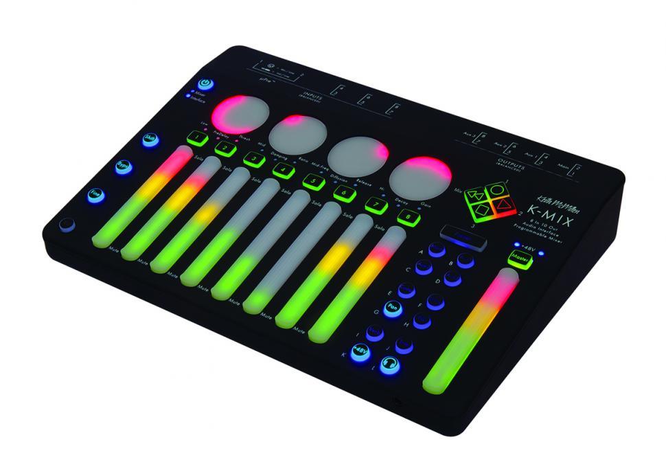 Audio-Interface, Mixer & Controller: Keith McMillen K-Mix im Test