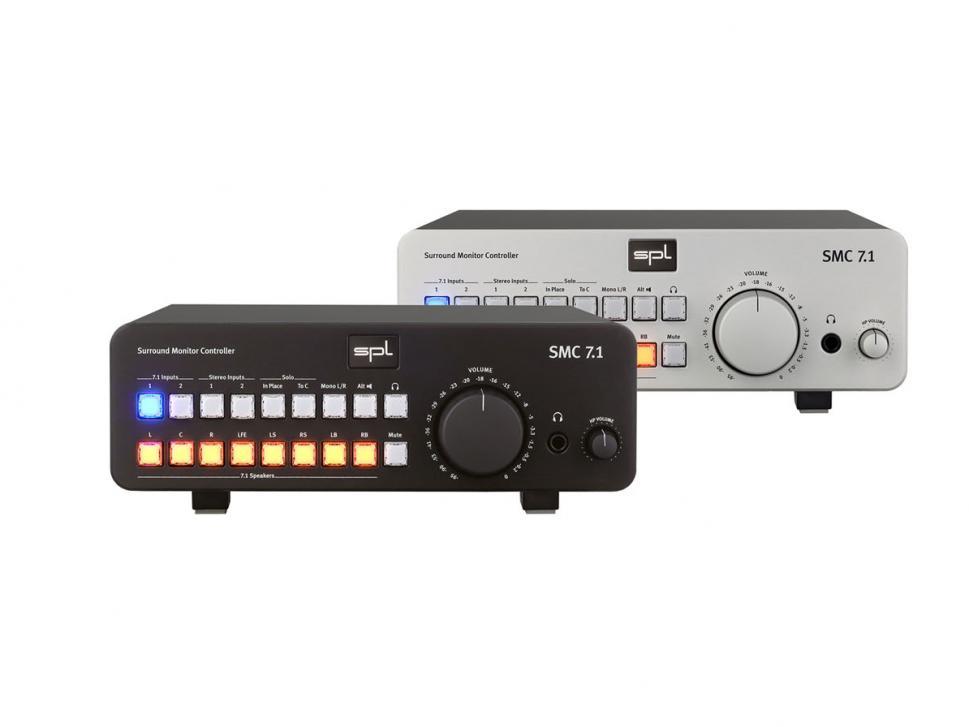 SPL SMC 7.1 Monitor-Controller für Surround
